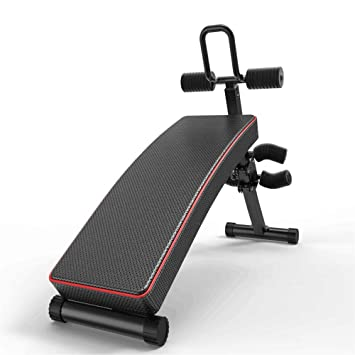 Uiophjkl Innovador Banco de Pesas Inicio Fitness Equipment Multifunción Sentado Abdominal Muscle Board Plegable Sentado Vertical Board: Amazon.es: Hogar