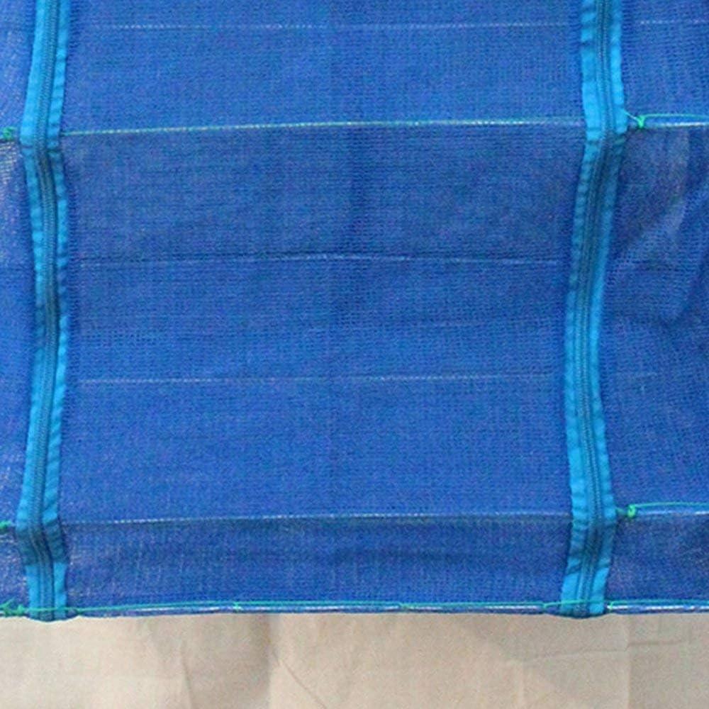 50 Emily Filet de p/êche Se Pliant au Filet de s/échage Cage Carr/é Cage /à Poisson Filet de p/êche /à Sec Filet de p/êche Bleu Croix Squelette 50 65cm