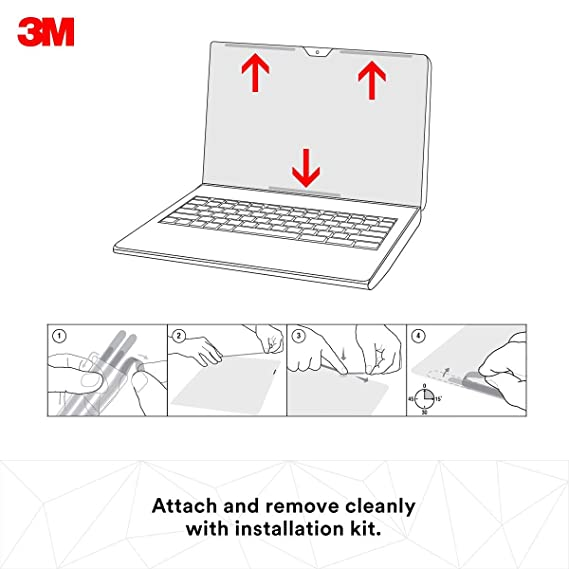 3M - Filtro de privacidad para Pantalla de Macbook Air (13