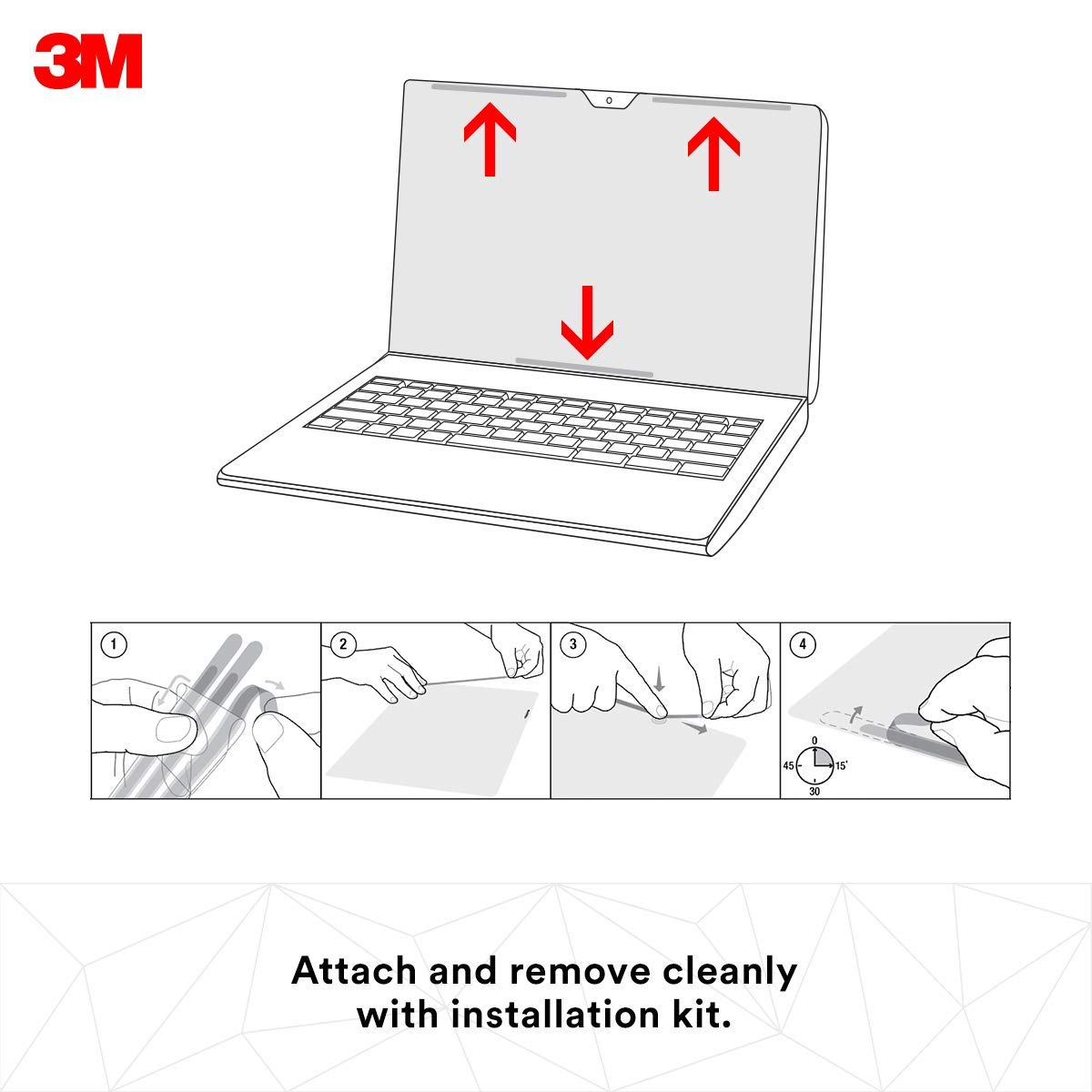 3M Gold Privacy Filter for 13'' Apple MacBook Air (GFNAP002) by 3M (Image #5)