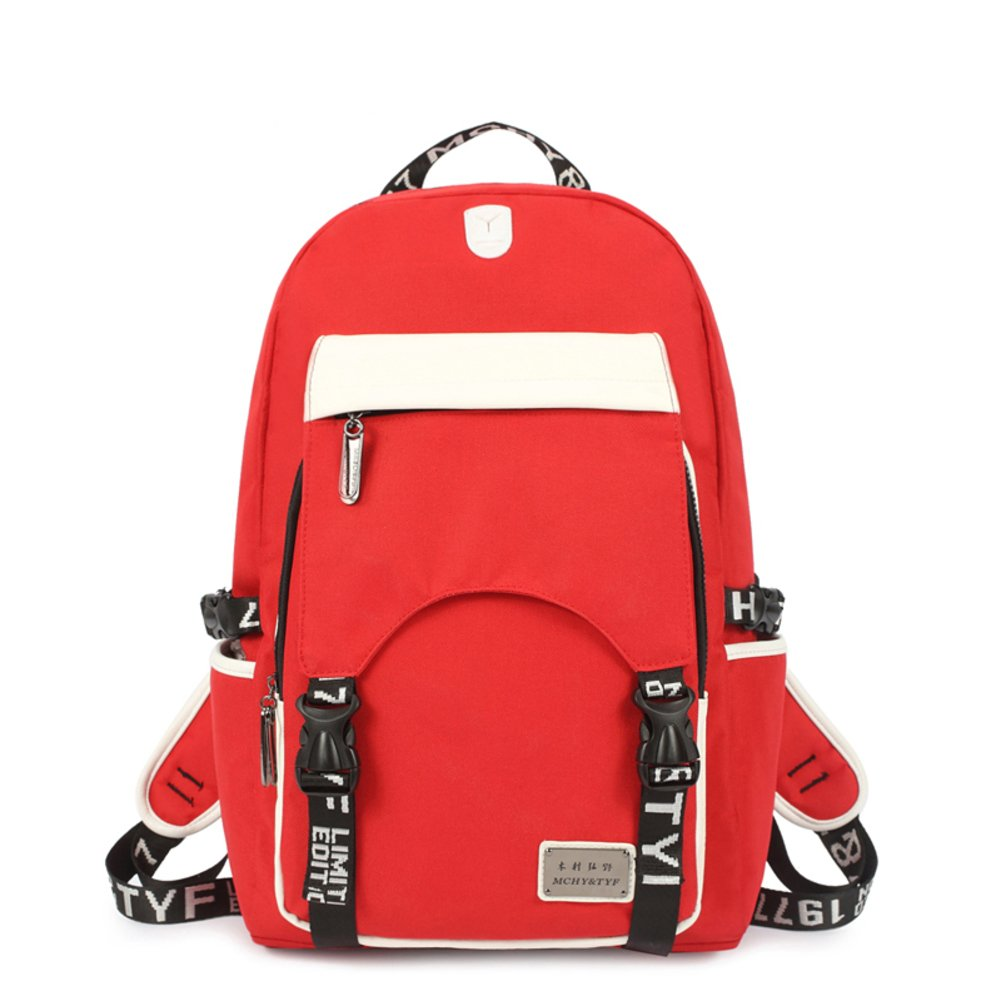 Korean version of backpack woman/Boys and girls high school early College wind bag/ tide backpack/ sports tourism Pack-D