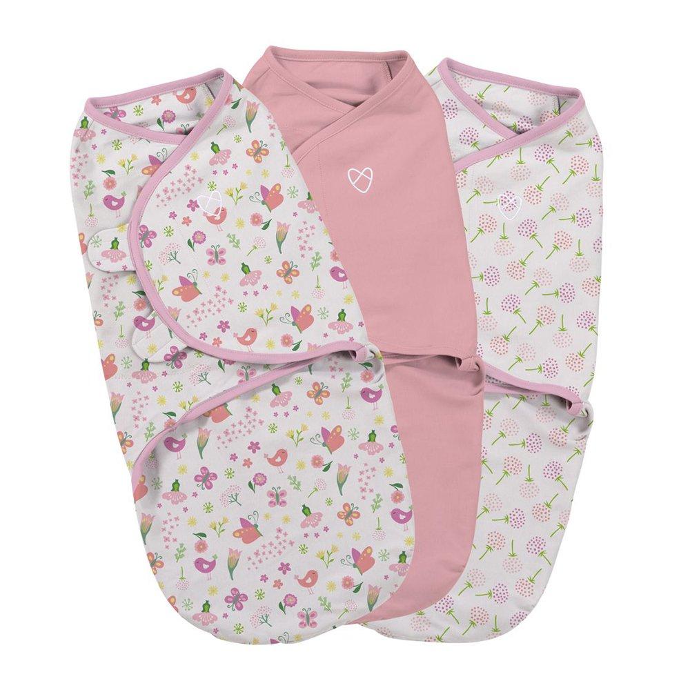 SwaddleMe Original Swaddle Bag, Small, Secret Garden, Pack of 3 Summer Infant (no VAT) 55966