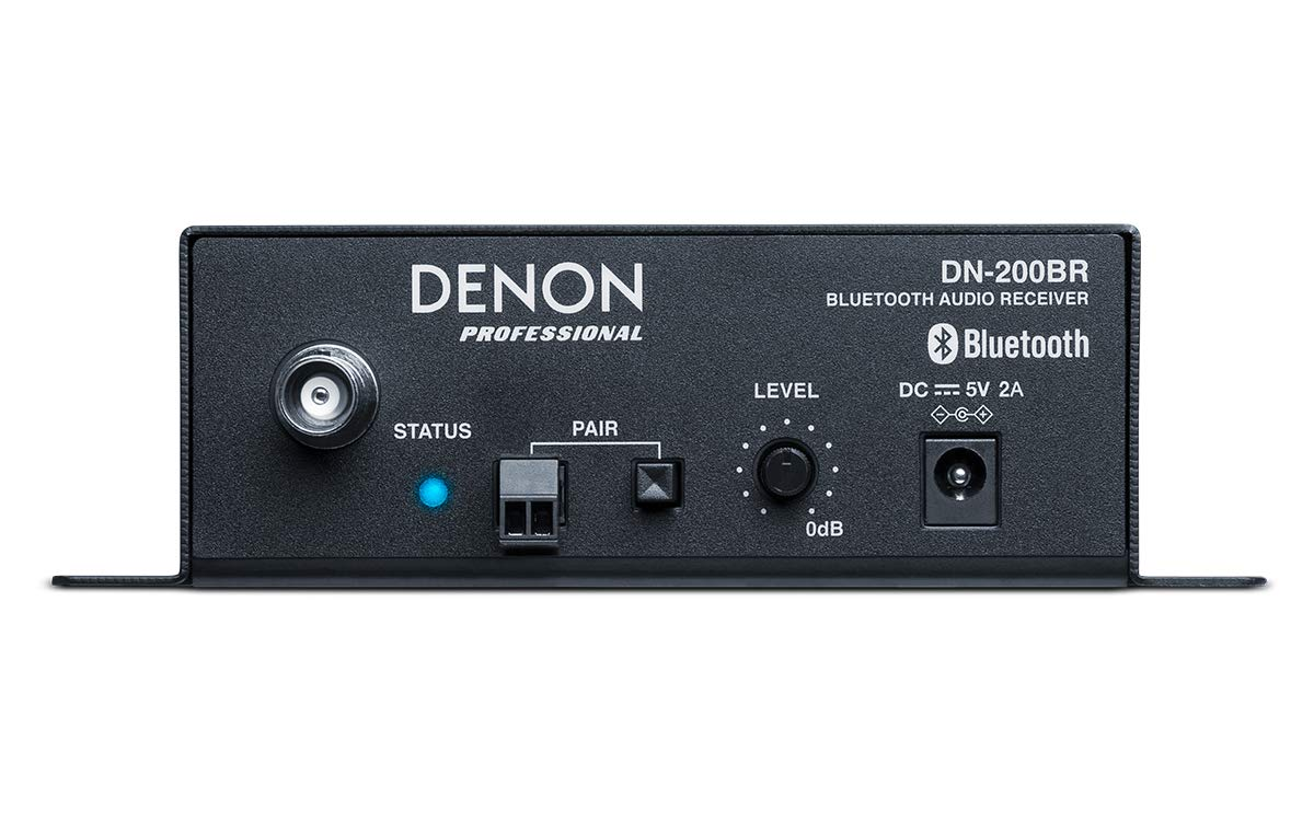 Denon Professional DN-200BR | Compact Stereo Bluetooth Audio Receiver by Denon Professional