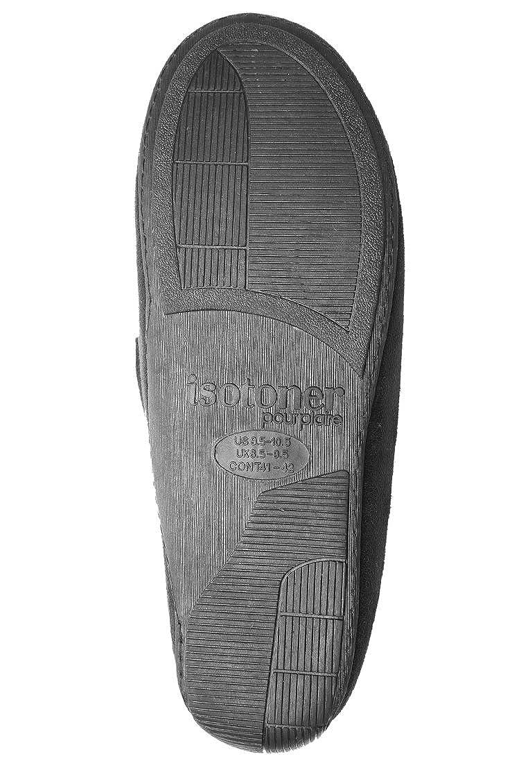 Zapatillas mocasines hombre Isotoner 45/46: Amazon.es: Zapatos y complementos