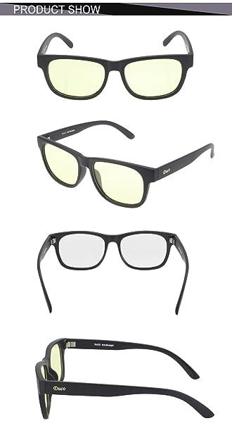 Amazon.com: DUCO 2142 - Gafas de seguridad para videojuegos ...