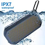 Best Dorm Room Speakers - Portable Bluetooth Speaker Waterproof Wireless Speakers IPX7 Water Review