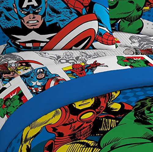 Marvel Comics fine Guys Microfiber Sheets Pillowcases