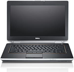"Dell Latitude E6420 14"" HD Anti-glare LED Backlit Business Laptop Computer, Intel Dual Core i7-2620M up to 3.4GHz, 8GB DDR3, 128GB SSD, DVD, HDMI, Windows 10 Pro (Renewed)"