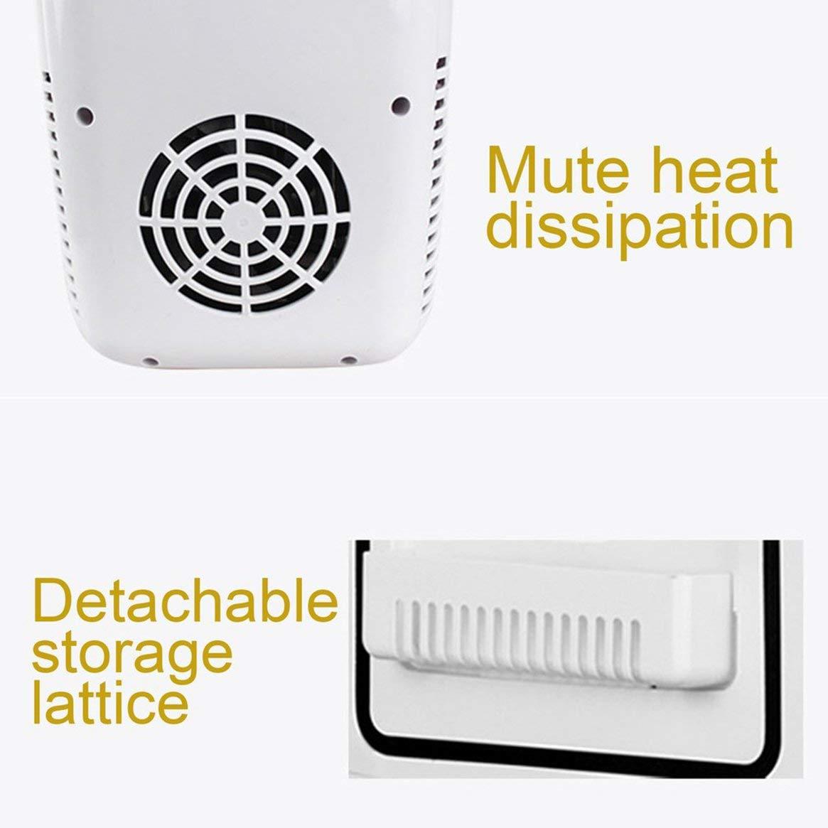 Amazon.es: Delicacydex Tamaño Compacto 4L refrigeradores para automóviles Ultra silencioso de bajo Ruido Mini refrigeradores para automóviles Congelador de ...