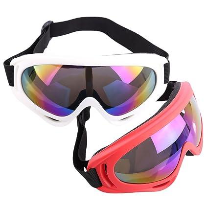 Amazon.com: Lingxuinfo - Gafas protectoras de seguridad, 2 ...
