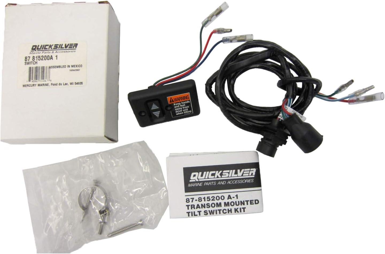 New Mercury Mercruiser Quicksilver Oem Part # 87-815200A02 Switch