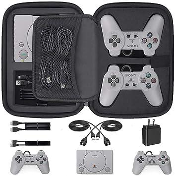 Funda de Transporte Personalizada para Consola y Accesorios de Playstation Classic Mini Edition: Amazon.es: Electrónica