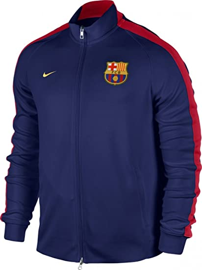 2b319e920ed Amazon.com   NIKE FC Barcelona N98 Authentic Jacket (Loyal Blue ...