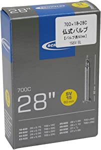 SCHWALBE(シュワルベ) 【正規品】700×18/28Cチューブ 仏式 60㎜ロングバルブ