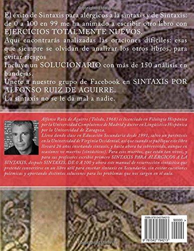 Sintaxis 2017. Ejercicios solucionados: Amazon.es: Alfonso Ruiz De Aguirre: Libros