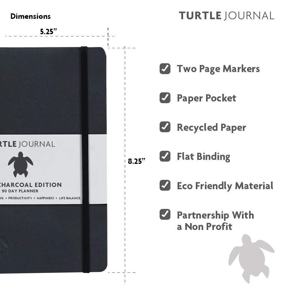 Amazon.com: Turtle Journal – Mejor planificador diario de ...