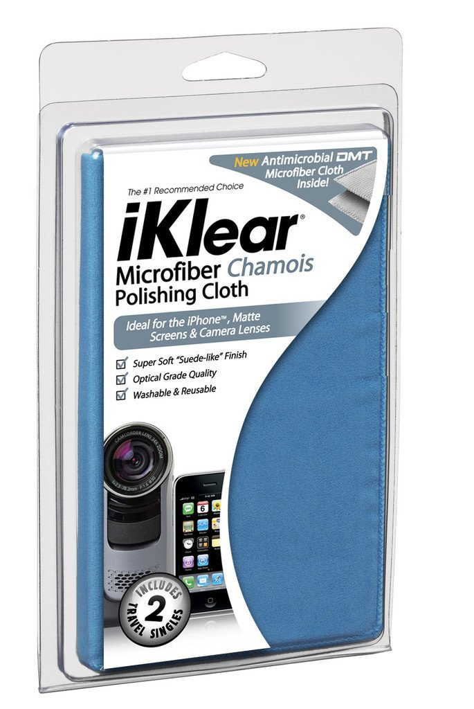 Klear Screen IK-MCK Micro Chamois 16x16 Polishing Cloth IKlear