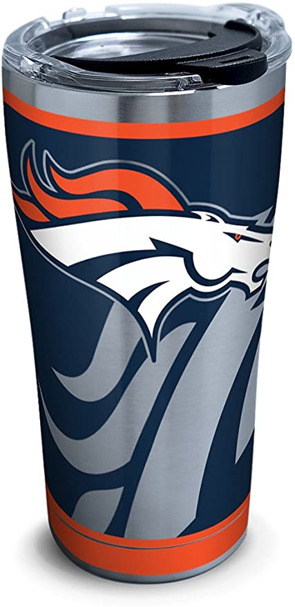 Tervis 1299931 NFL Denver Broncos Rush - Vaso (acero inoxidable ... 604ddc33fe4
