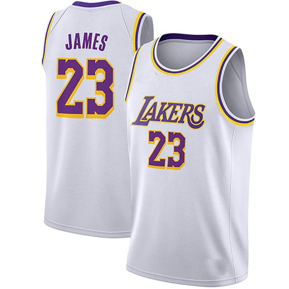 Uniforme de Baloncesto Camiseta de Baloncesto Lakers 23a Traje de ...