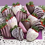 12 Celebration Chocolate Covered Strawberries