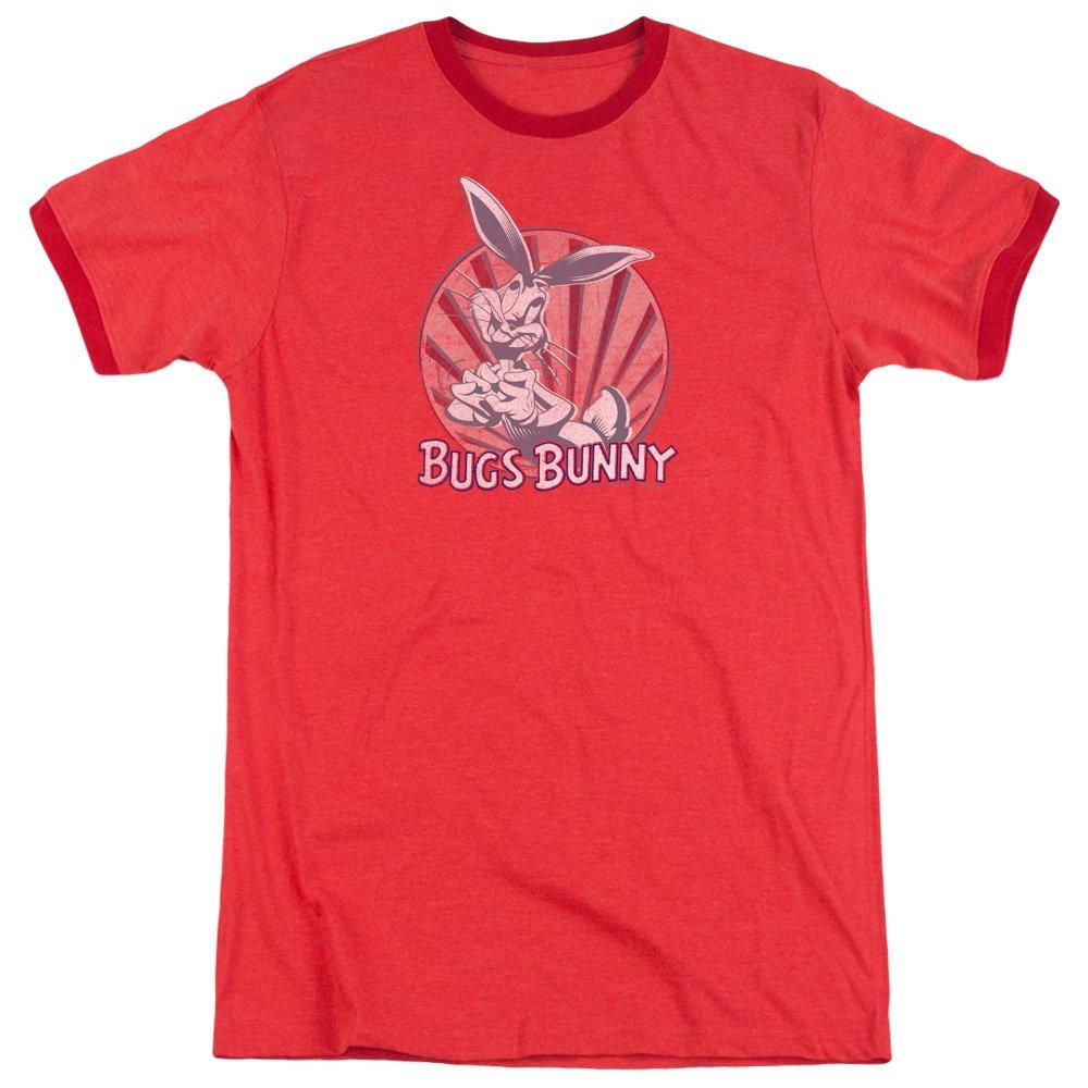 Looney Tunes Wishful Thinking Adult Ringer T-Shirt