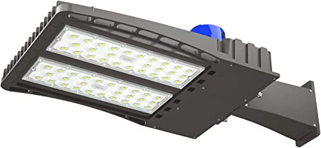 150W LED Parking Lot Shoebox Light Street Light Outdoor IP65 Lamp Fixture 5000K