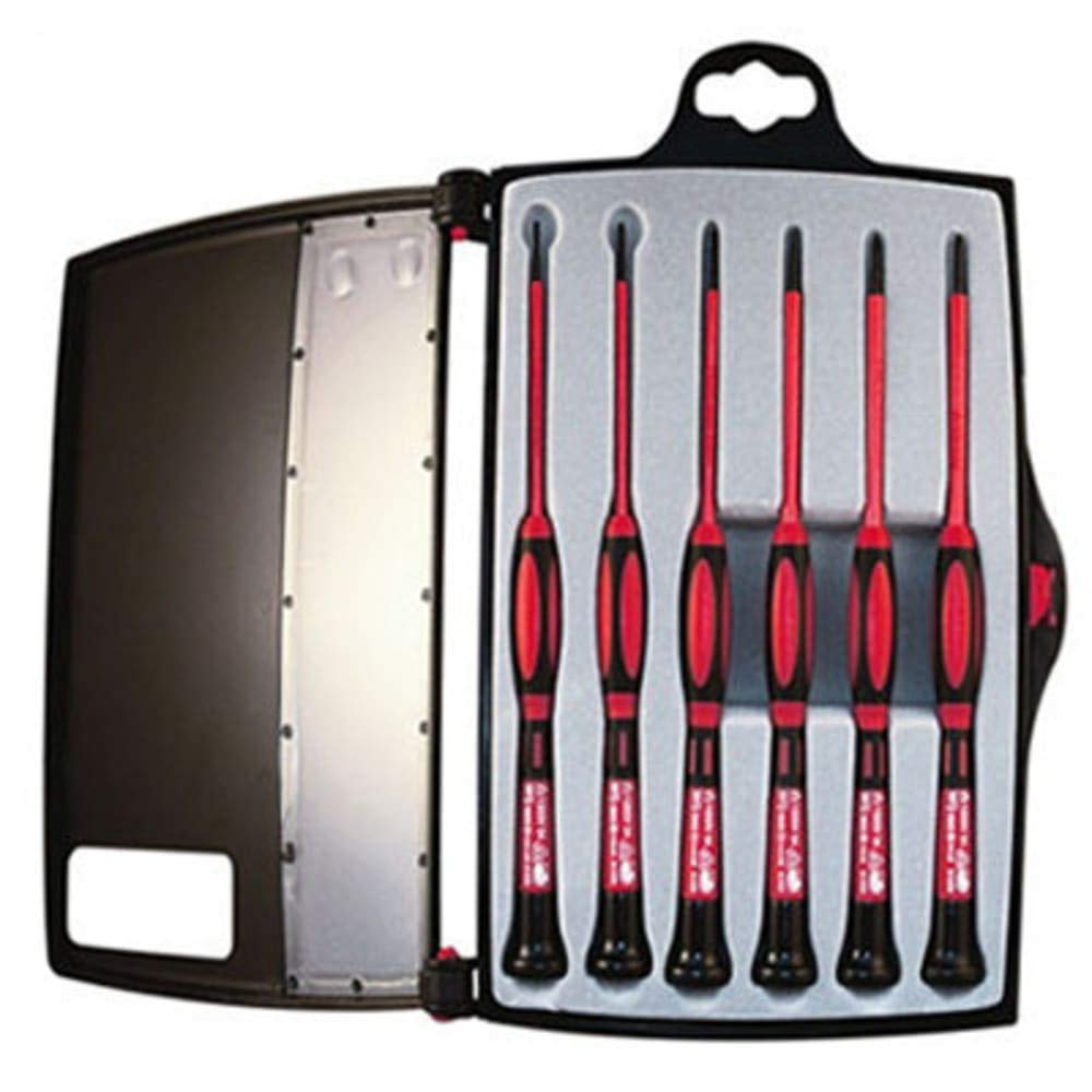 1 KV Insulated Precision Screwdriver Set; 6 PC, Pack of 2