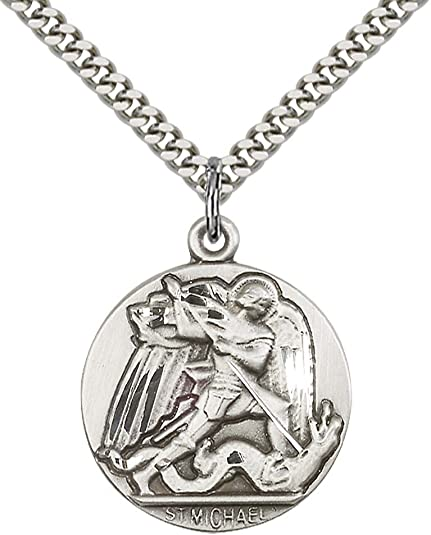 Sterling Silver ST MICHAEL 24