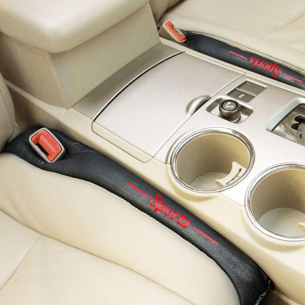 Maiqiken Antidrop Autositz Lückenfüller 2 Stück 48cm Sitzlückenfüller Sitz Stopper Für Golf Passat Tiguan Auto