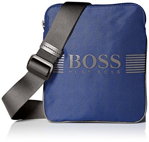 Price comparison product image BOSS Green Men's Pixel Zip Pouch Bag, Blue