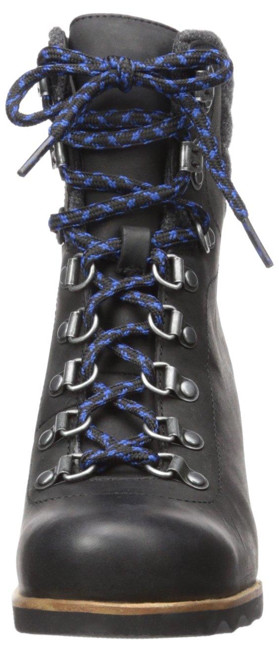 SOREL Women's Conquest Wedge Mid Calf Boot, Black, 11 M US by SOREL (Image #4)