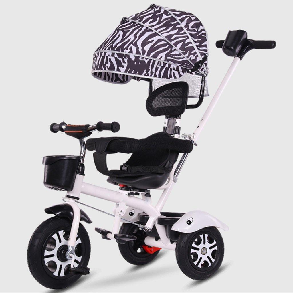6a6d067ce ... HAOJUN Bicicleta de Triciclo para Niños 3-6 Años de Edad Edad Edad Silla  de ...