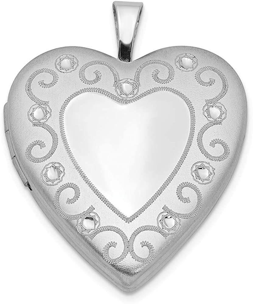 24mm x 16mm 925 Sterling Silver Peace Sign Pendant