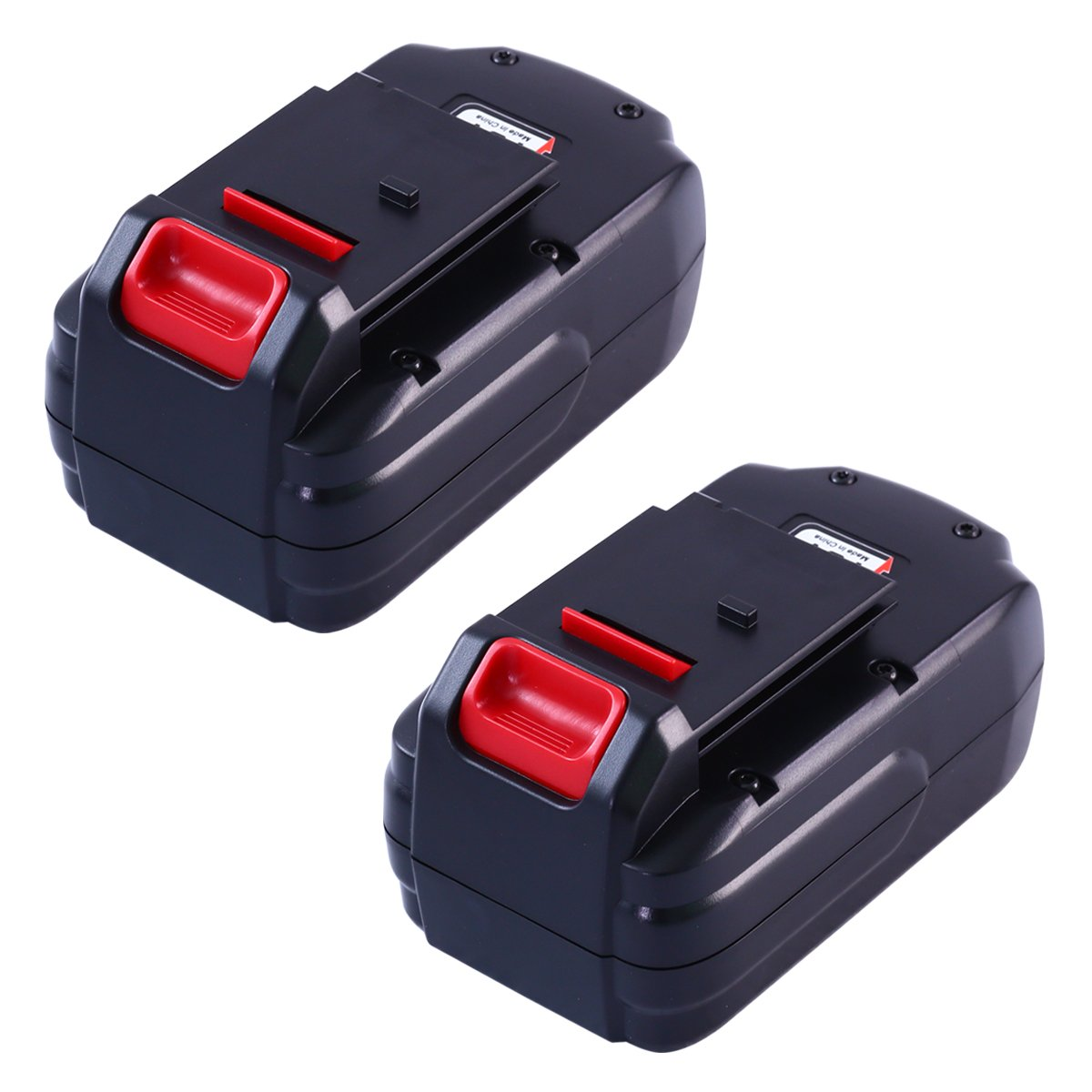 Boetpcr 2pack Pc18b Replacement For Porter Cable 18v Battery 3 0ah