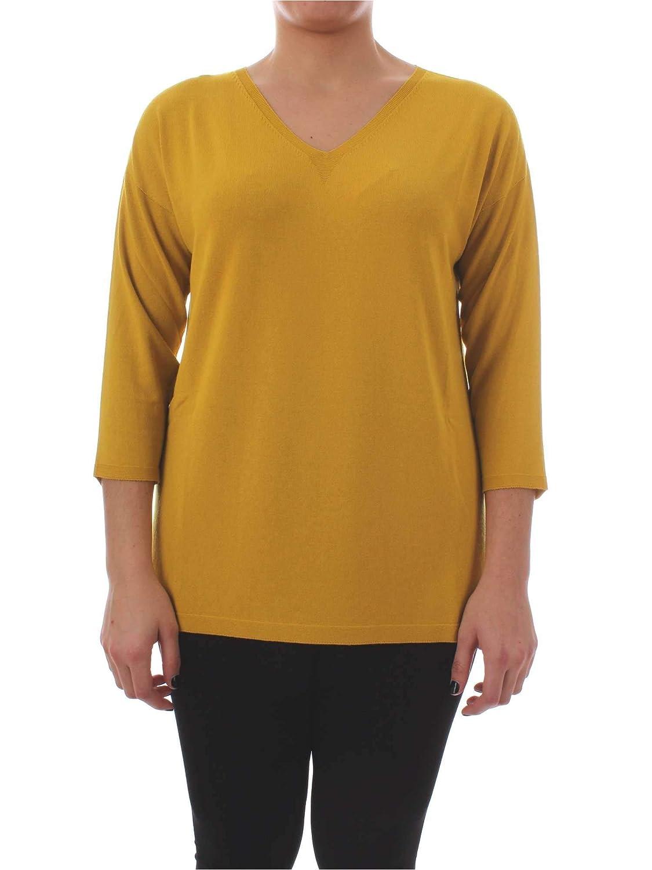 Persona By Marina Rinaldi Women's 1361519YELLOW Yellow Acrylic Sweater