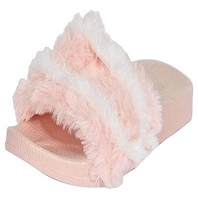 7cc35e7d36b Shoe lab Pink Slippers(