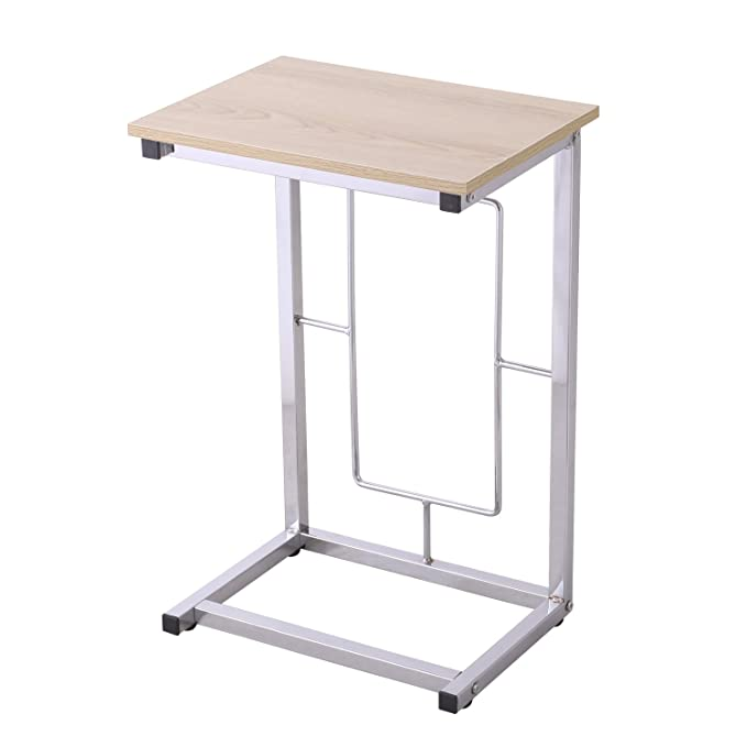 Amazon.com: Adeco c-sharped Accent mesa, mesa de estilo ...