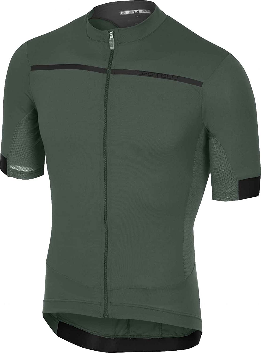 Castelli Forza Pro ジャージ B079C6X2QV X-Large|Forest Gray Forest Gray X-Large