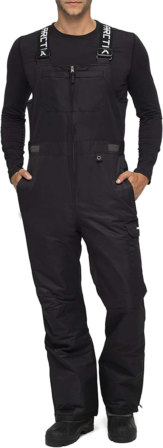 Arctix Men's Avalanche Athletic Fit Insulated Bib Overalls : Clothing