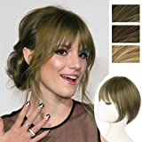 DeeThens Clip in Hair Fringe Bangs Hair Extensions Clip on 3D Air Bangs Hairpiece Natural Flat Neat Bangs Hair Clip…