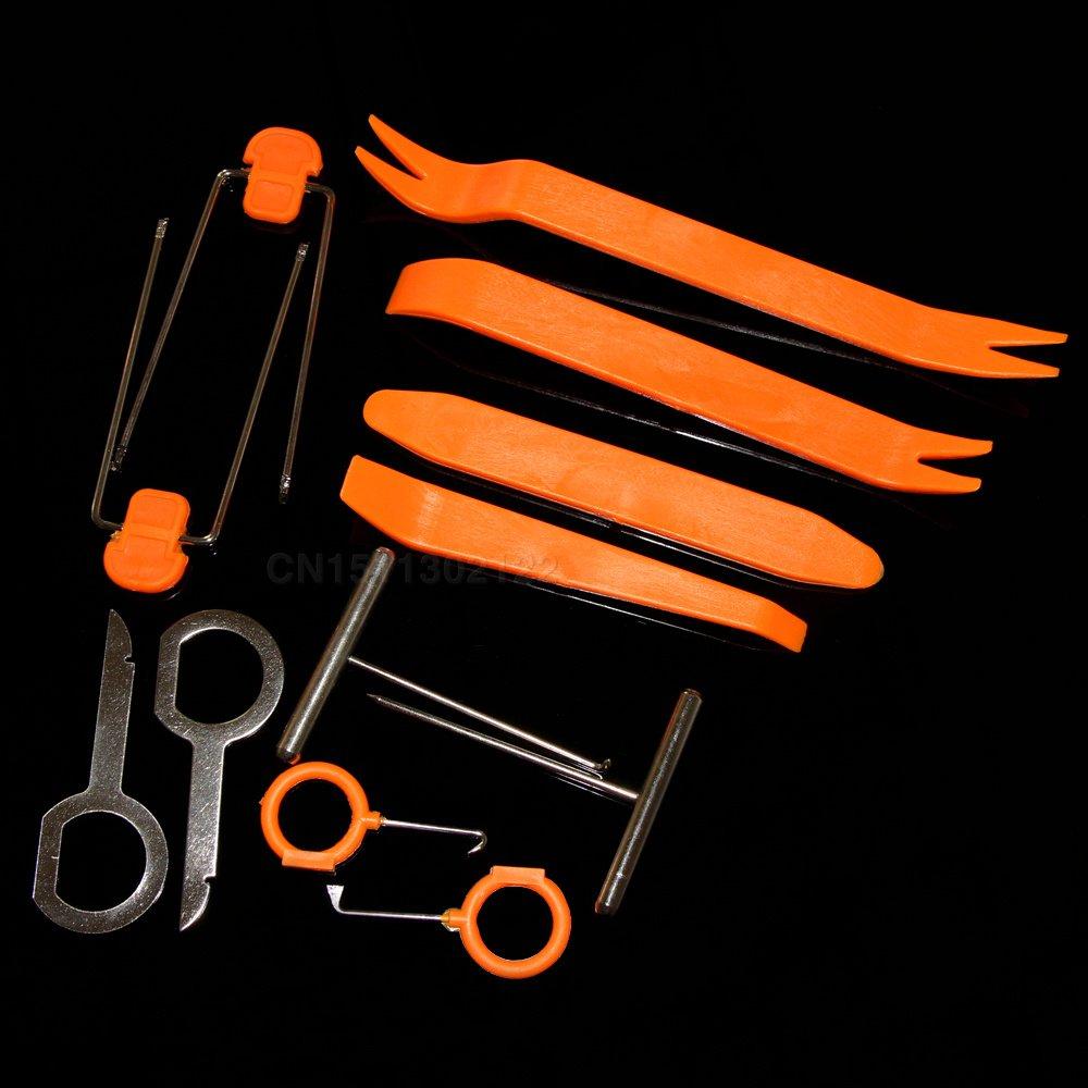 Trudged(TM) Disassembly Tool 12pcs/set Fit For Mercedes-Benz A200 A180 A260 B180 B200 A250 CLA GLA AMG C E S CLA CLS ML GL GLK CLK SLK Class