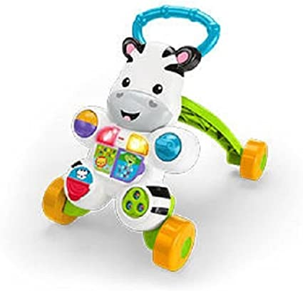 Amazon.com: Fisher-Price aprender con Me Zebra Walker por ...