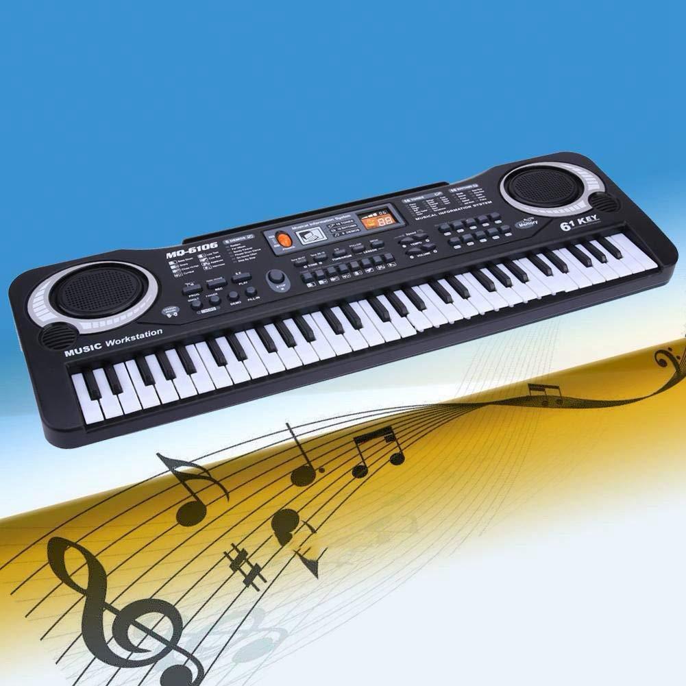 61 Keys Digital Music Electronic Keyboard Key Board Electric Piano Children Gift, US Plug by D.Roc (Image #3)