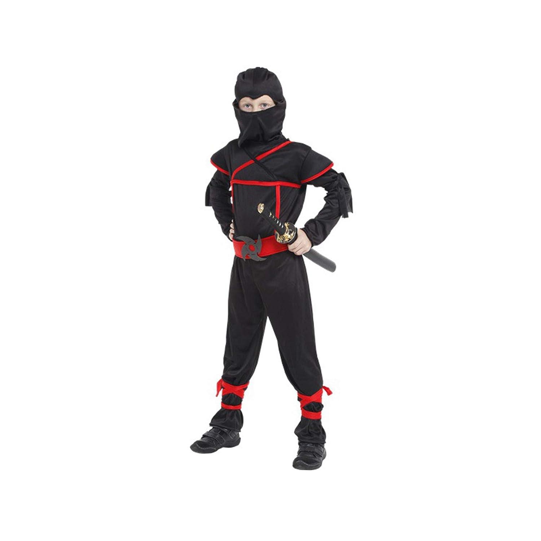 Amazon.com: COSAUG Stealth Ninja Toddler Costume Black (M ...