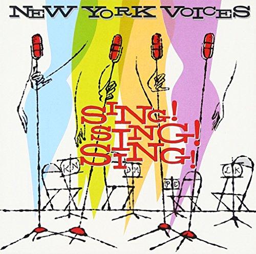 CD : New York Voices - Sing, Sing, Sing (CD)