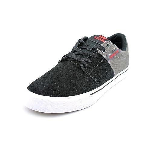 Zapatillas Supra: Stacks Vulc II GR/BK: Amazon.es: Zapatos y complementos