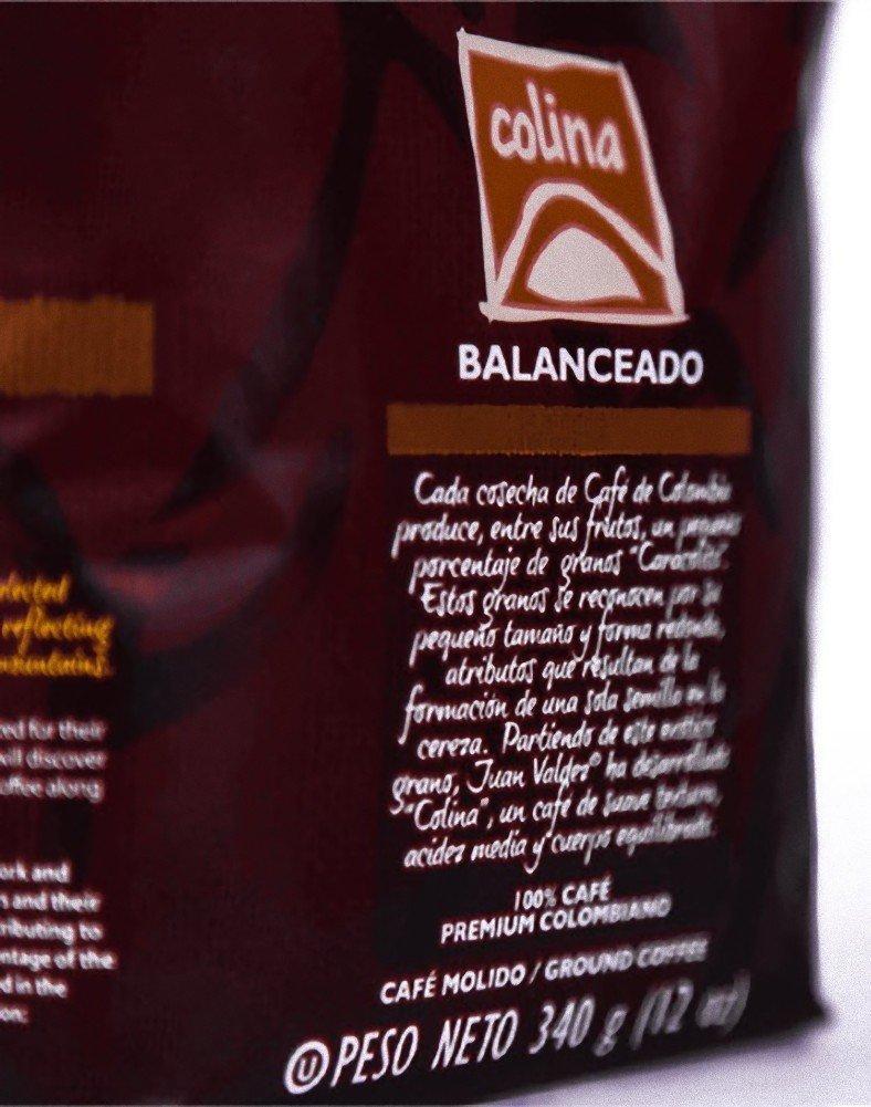 Juan Valdez Premium Cafe Colombiano, Colina: Amazon.com ...