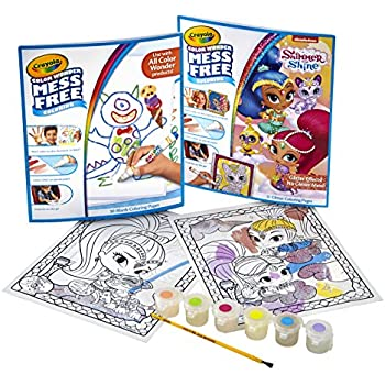 Amazon.com: Crayola Color Wonder Markers and Paper, Mess Free ...