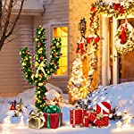 Goplus-Pre-Lit-Artificial-Cactus-Christmas-Tree-with-LED-Lights-and-Ball-Ornaments