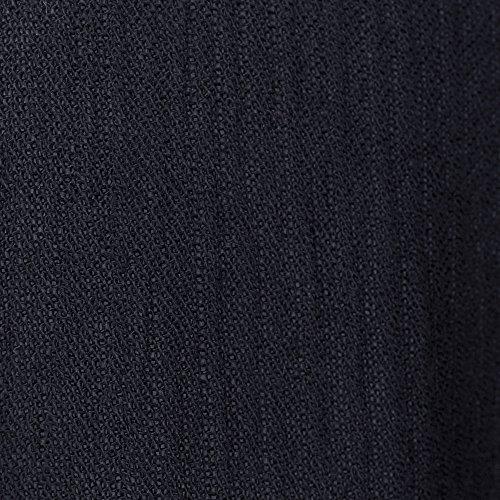 Mujer Moda Patchwork Tops Larga Negro Vjgoal De Blusa Sexy Casual Para Manga Solid Encaje Hueco qfxnwZg